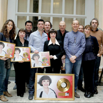 MM DISQUE D 'OR SONY 1