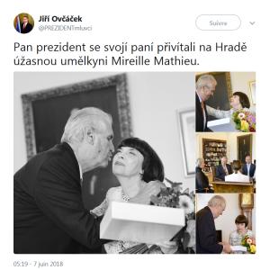 2018 PRAGUE MM PRESIDENT