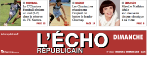 presse ECHO REPUBLICAIN 2018