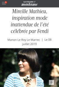 MM FENDI MADAME FIGARO