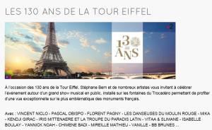 130 ans de la TOUR EIFFEL