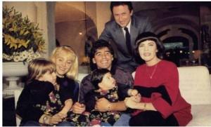 ph MM Maradonna et sa famille